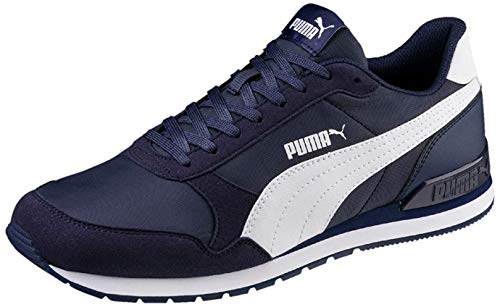 PUMA St Runner V2 NL', Zapatillas Unisex Adulto, Azul (Peacoat White), 44...