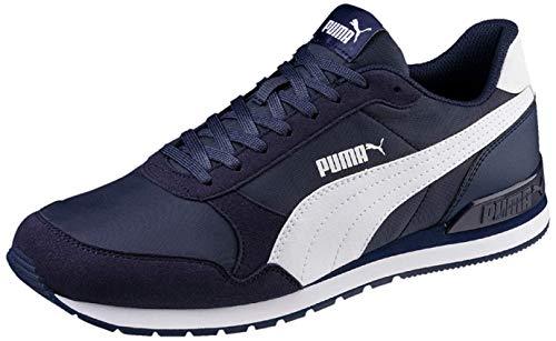 PUMA St Runner V2 NL', Zapatillas Unisex Adulto, Azul (Peacoat White), 40 EU