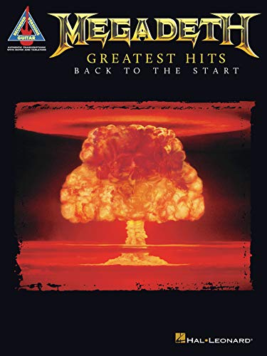 Megadeth - Greatest Hits: Back to the Start Songbook