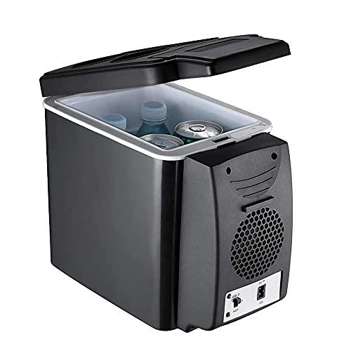 Nevera Y Congelador De Compresor PortáTil, 6 L, con Una Capacidad De RefrigeracióN De +10°C A -10°C para Coche, CamióN, Barco Y Autocaravana