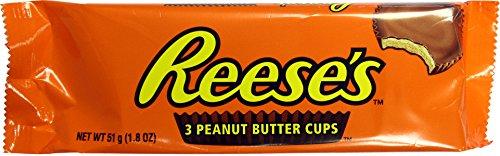 Hershey's Reese's 3 peanut butter cup dolcetto al Burro di Arachidi 51g hersheys reeses