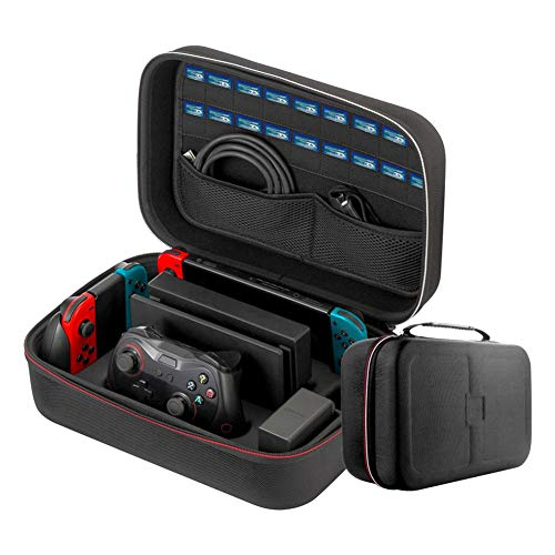 Getherad Carry Case Compatibel met Nintendo Switch - draagbare reisbeschermhoes voor alle Nintendo Switch Gamepad accessoires Physical