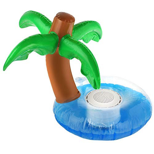Caleo Inflatable Floating Bluetooth Speaker | Unique Waterproof Wireless Speaker Has Dynamic Audio &...