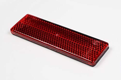 HELLA 8RA 342 014-157 Rückstrahler - Lichtscheibenfarbe: rot - geklebt - hinten