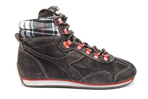 Diadora Equipe M SW H Pelle Scamosciata Marrone Sneaker Uomo/Donna (37, Marrone)