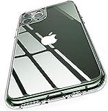 Humixx iPhone 11 Pro Hülle, Upgrade Dünne, Transparent Anti-Gelb Glas Crystal Clear Handyhülle mit TPU Silikon Bumper, Anti Kratzer Stoßfest Durchsichtige Schutzhülle Case für iPhone 11 Pro