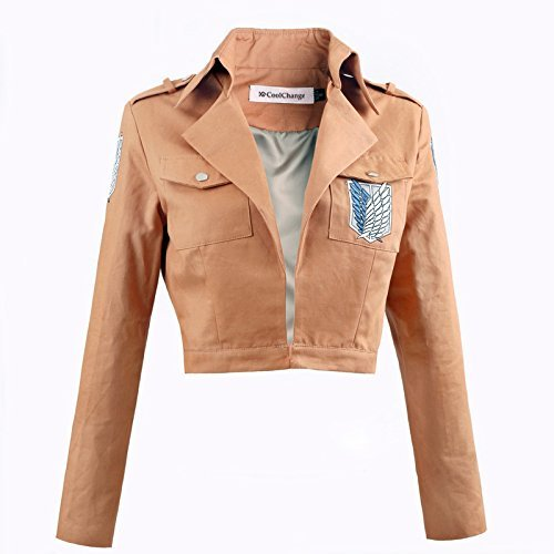 CoolChange Attack on Titan Uniform Jacke des Aufklärungstrupp (S)