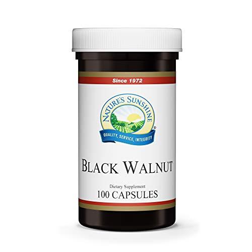 Nature's Sunshine Black Walnut 100 Capsules (Foods That Create Mucus Foods That Eliminate Mucus)