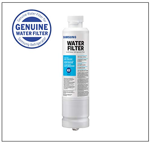 Mejor Samsung DA29-00020B Refrigerator Water Filter Replacement. Compatible Samsung Models: DA29-00020B-1, DA29-00020B, Haf-Cin/Exp, RF4267HARS, RF28HMEDBSR, RF28HFEDBSR, Many More Samsung Models (3 Pack) crítica 2020