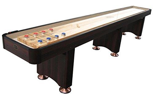 Playcraft Woodbridge Shuffleboard Table, Espresso, 12-Feet