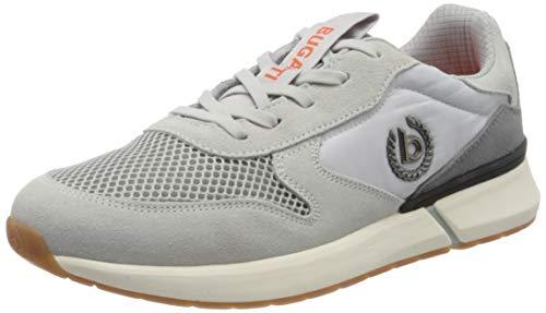 bugatti Herren 341927011400 Sneaker, Grau, 43 EU