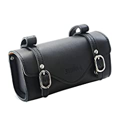 100% Black Leather from Australia Vintage Look Magnetic button closure Attaches to STRiDA saddles In display box