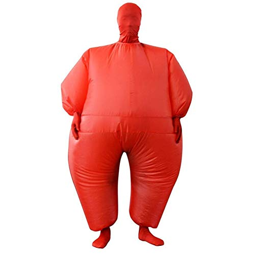 ZHANGXJ Cosplay Disfraz de Sumo Hinchable Traje de Adulto de Sumo Inflable Carnaval Cosplay Fancy Dress Disfraces Halloween Fiesta Novedad Juguetes Víspera de Todos los Santos (Color : Red)