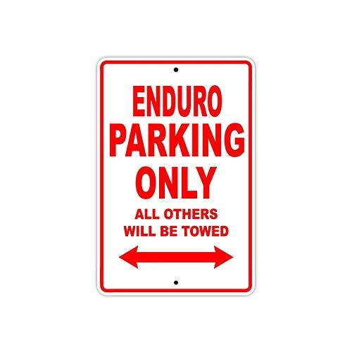 BorisMotley Enduro Parkeerplaats Alleen Alle Anderen Worden Towed Touring Motorfiets Off-Road Mountainbikes Nieuwigheid Garage Aluminium 8