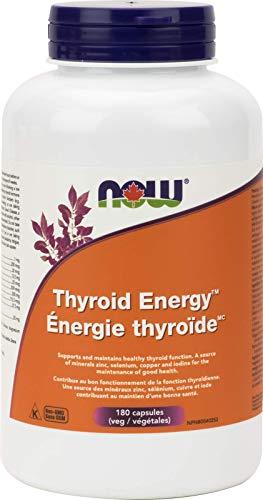 NOW Thyroid Energy Formula 180 Veg Capsules, 180 g