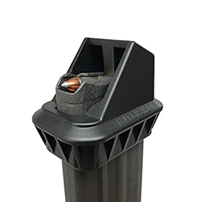 MAKERSHOT Custom 22 Magnum WMR Magazine Speedloader (Kel-Tec PMR-30), Black