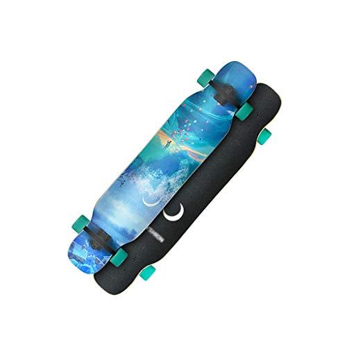 Buy LIUFS-Skateboards Female Growth Board Professional Skateboard Student Adult Beginner Four-Wheele...