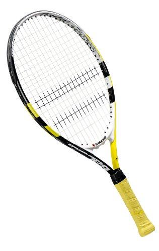 Babolat Nadal - Raqueta encordada de Tenis Unisex, Color Amarillo/Negro, Talla 110