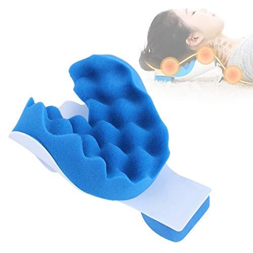 Schmerzlinderung Kissen Hals und Schulter Muskel Relaxer Traktionsgerät für Halswirbelsäulenausrichtung Nackenstütze Reisekissen