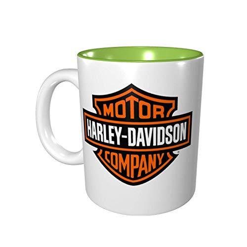 Harley Davidson colore tazza tazza di porcellana 330ml ceramica uso domestico ufficio protezione dell'ambiente