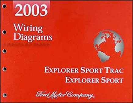 2003 ford explorer sport trac and explorer sport wiring diagram manual  paperback – 2002