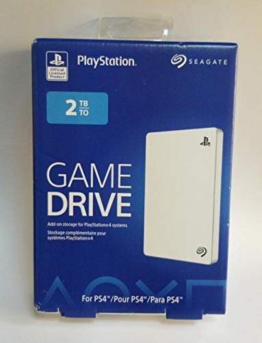 Seagate Game Drive for PS4 Systems 2TB USB 3.0 External Hard Drive Portable HDD STGD2000102