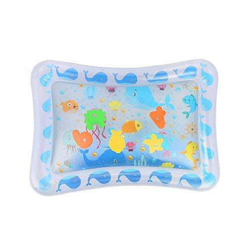 Jia Hu 1 pc bebé inflable agua Mat mar barriga tiempo juego actividad centro estimulación crecimiento