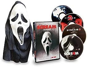 The Complete Scream Collection Scream / Scream 2 / Scream 3 / Scream 4  With Mask
