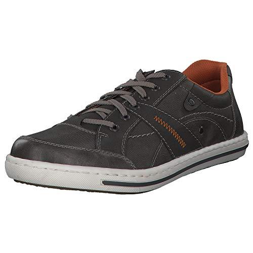 Rieker Sneaker in Übergrößen Grau 19013-43 große Herrenschuhe, Größe:46