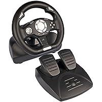 Tracer Sierra Volante + Pedales PC Negro - Volante/Mando (Volante + Pedales, PC, Analógico/Digital, D-Pad, Alámbrico, USB 2.0)
