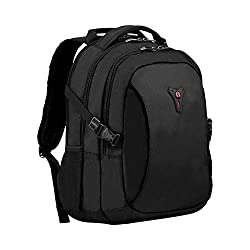 """Padded 16"""" Laptop compartment and dedicated 10"""" Tablet pocket Case base stabilizing platform keeps the bag standing upright Essentials organizer keeps power cords, chargers and business cards neat and accessible Pass-through grab handle slides over t..."""