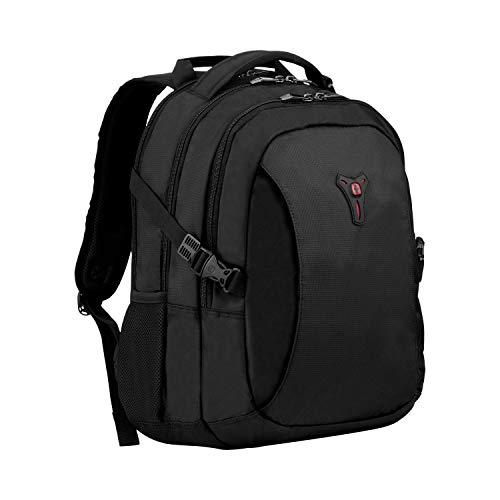 """Wenger Sidebar Deluxe - Mochila para ordenador portátil de 16"""" y compartimiento para tablet de 10"""", color negro"""