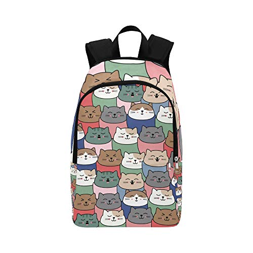 Limiejo Best College Bags Cute Plush Fashion Animal Pet Cat Durable Water Resistant Classic Travel Makeup Bag Casual Duffle Bag for Men College Bag Women Crossbody Backpack for Women