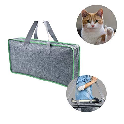 Gatitos Conejos Bolsa de Transporte para Gatos Perros Cachorros Camping Viajes 20 x 12 x 11 Rantow Transport/ín Plegable para Mascotas con Ruedas extra/íbles Senderismo