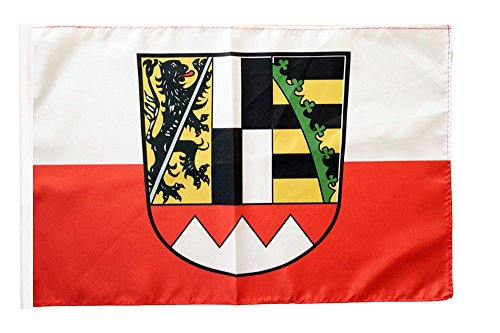 Flaggenfritze® Flagge Deutschland Oberfranken - 30 x 45 cm