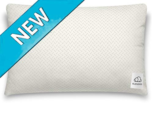 KLOUDES Adjustable Pillow | Best Pillows for Sleeping | Helps Reduce Neck & Shoulder Pain...