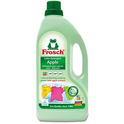 Frosch USA Color Laundry Detergent, Apple, 56 Ounce