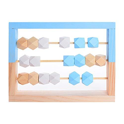 Juguete de madera del ábaco, juguetes de madera de Abacus, juegos marco educativos para niños juguetes para aprender matemáticas divertido juguete