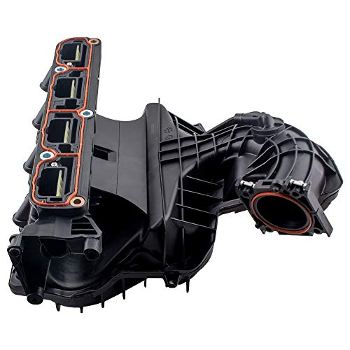BOXI Upper Intake Manifold Compatible with 2009-2011 Dod-ge Journey   2007-2017 Jeep Compass & Patriot   2007-2010 CHRYSL-ER Sebring Replace # 4884495AK