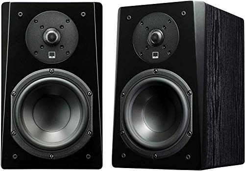 SVS Prime Satellite Speaker (Pair) - Premium Black Ash