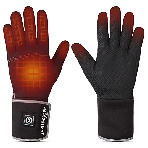 BARCHI HEAT Heated Gloves Rechargeable - Men Women Electric...