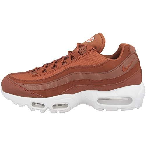 Nike Air Max 95 Premium SE Uomo Running Trainers 924478 Sneakers Scarpe (UK 8.5 US 9.5 EU 43, Dusty Peach White 200)