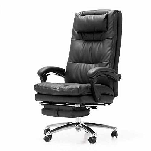 Tokyia norte de Europa Silla de oficina Ejecutivo Inicio Silla de oficina con reposapiés Silla de E-Sports almuerzo for sillas de rotura silla reclinable Silla de escritorio de elevación plana reclina