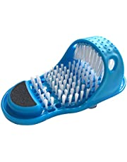 Limpiador simple de pies, cepillo de limpieza de pies, depurador de pies para lavadora, ducha, spa, masajeador de zapatillas