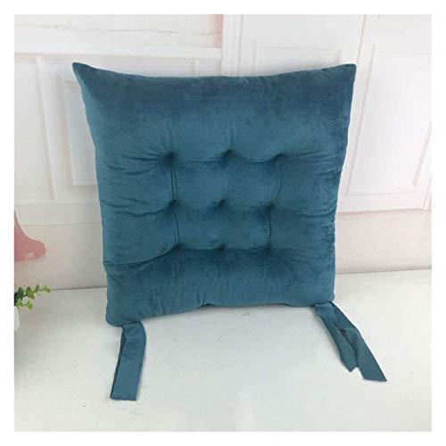 JIUYUE Set of 4 Soft Chair Cushion Seat Pad Seat Cushion Kitchen Garden Dining Chair for Garden Patio Kitchen Dining Garden Cushion (Color : Purple, Size : 40x40x6cm)