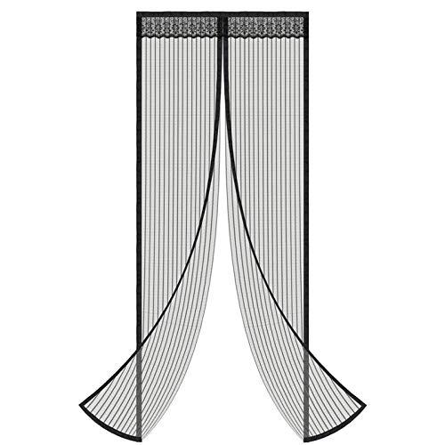 YJHH Cortina Mosquitera Magnética para, Cortina Magnética Puerta, Malla Pequeña Permeable Al Gas para Puertas De Sala De Estar La Puerta del Balcón
