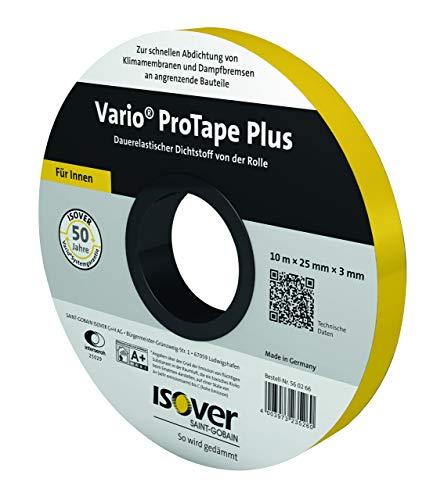Isover 560166 Vario ProTape Plus - Sellador elástico (25 mm, 10 m)
