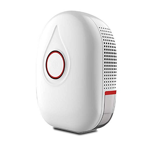 Great Price! Electric Mini Dehumidifier,Portable Mini Dehumidifier with 500ml Water Tank and Auto Shut-Off for Basement Bedroom Bathroom Baby Room Kitchen Office,Red