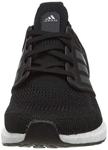 adidas Ultraboost 20, Zapatillas para Correr Hombre, Core Black/Night Met./FTWR White, 41 1/3 EU
