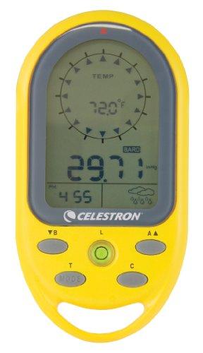 Celestron CE48002-DS - Bussola Elettronica Trekguide, Colore Giallo